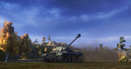Russian IS-3, from World of Tanks