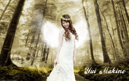 Yui Makino Angel Mode!